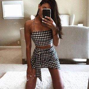 Grid Two Piece Set